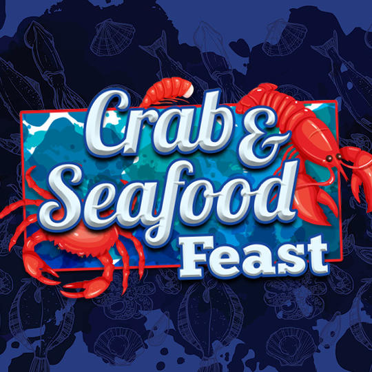 Crab and Seafood Feast Logo