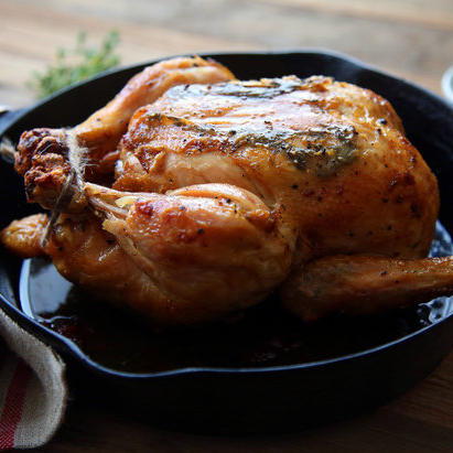 Whole Roasted Amish Chicken