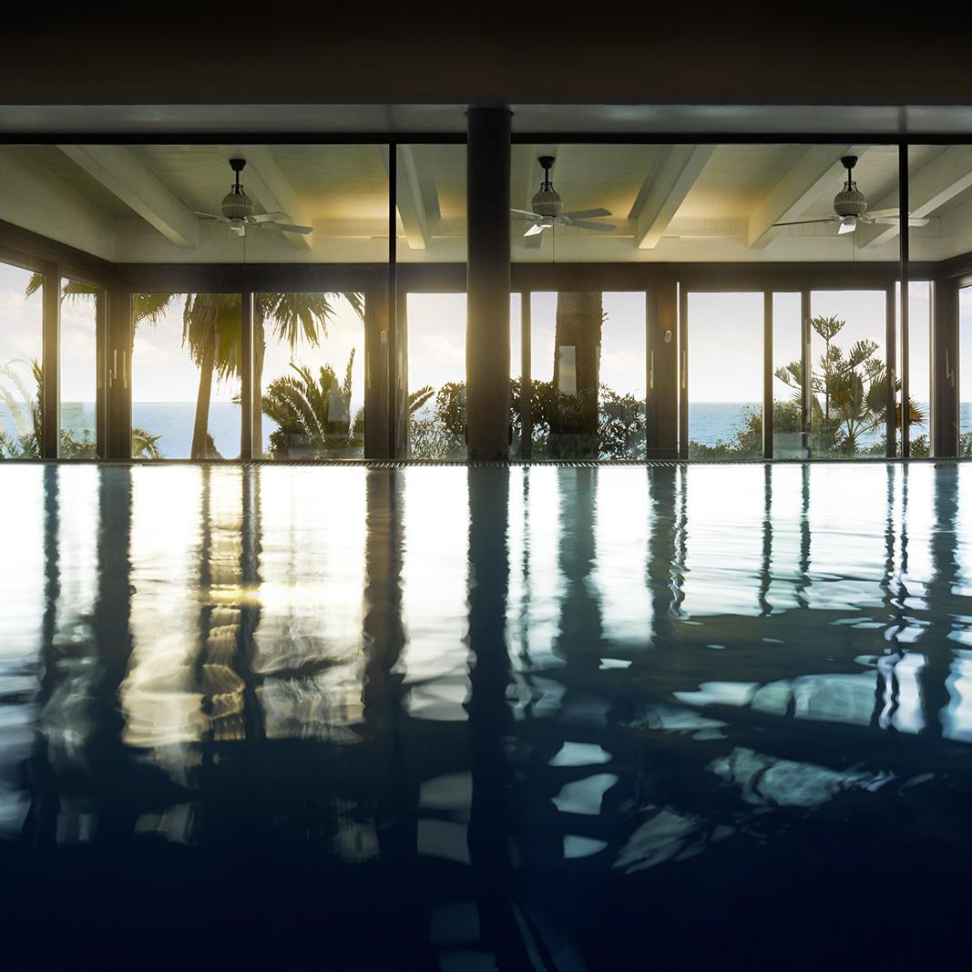 experiencia de meditación con flotación en el spa de Marbella Club