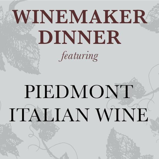 Piedmont Italian Wine Logo