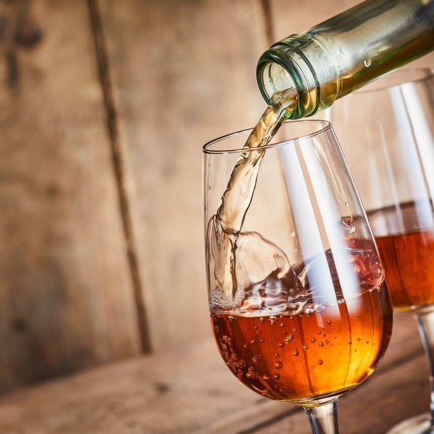 sherry tasting at El Patio at Marbella Club