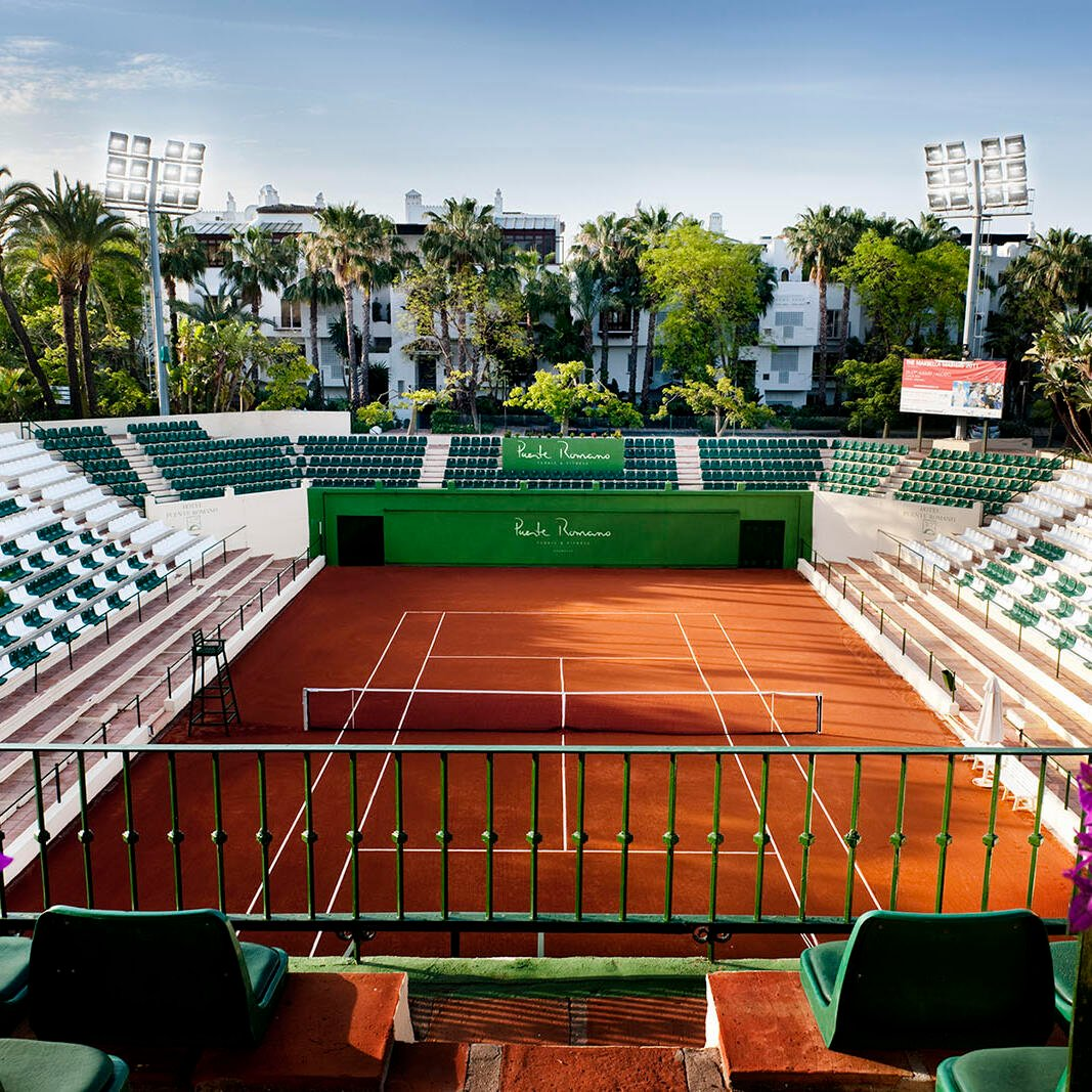 Training camps at the Puente Romano Tennis Club