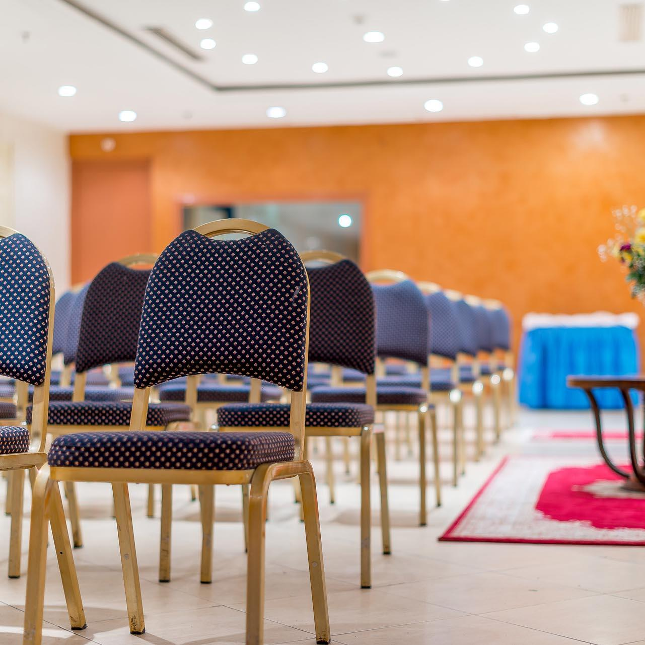 Chairs at Conference Area - Farah Marrakech Hotel