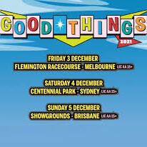 Image of Good things event schedule