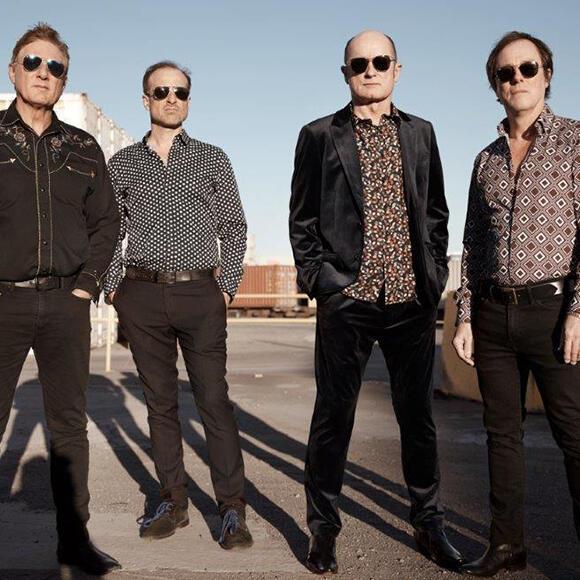 A photo of Legendary Australian rock group Hoodoo Gurus