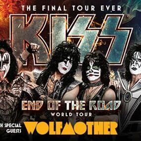 kiss end of the road tour Poster   Royal on the Park hotel