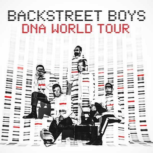 Poster of Backstreet boys DNA Tour 2020 Concert