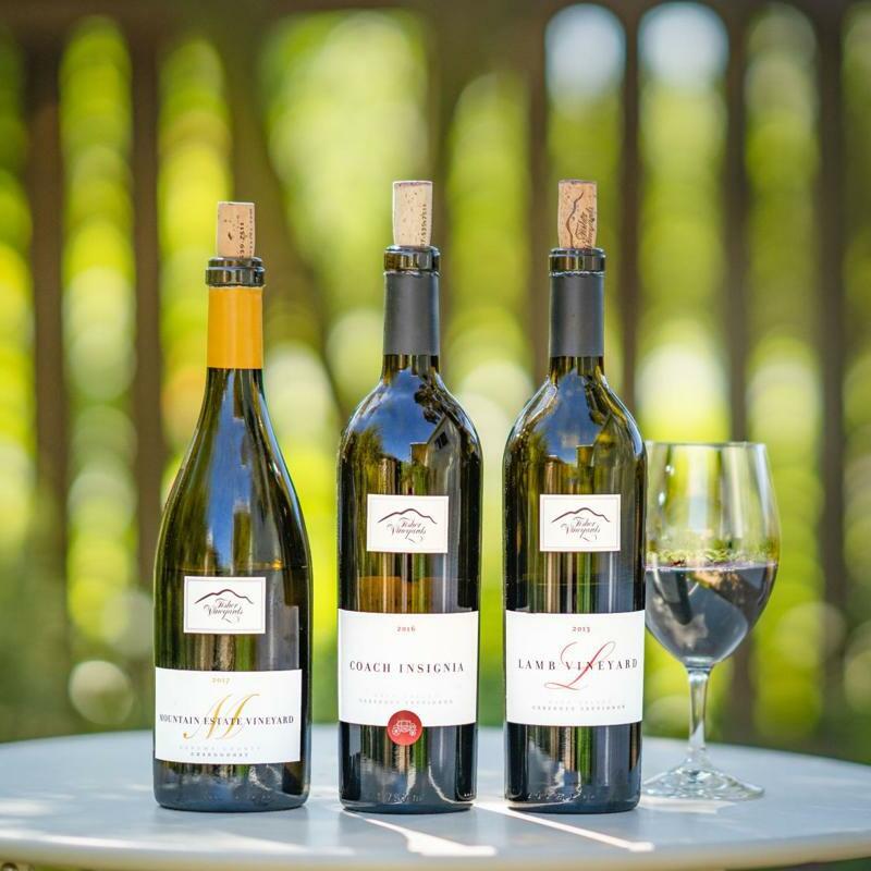 Fisher Wine Bottles