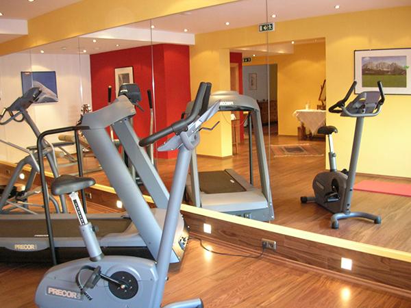 Gym at Tiefenbrunner Hotel in Kitzbühel