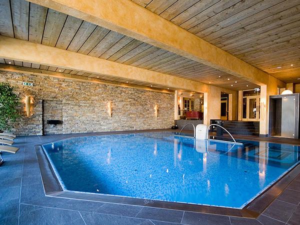 Swimming pool at Tiefenbrunner Hotel in Kitzbühel