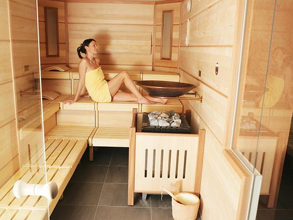 Sauna at Tiefenbrunner Hotel in Kitzbühel