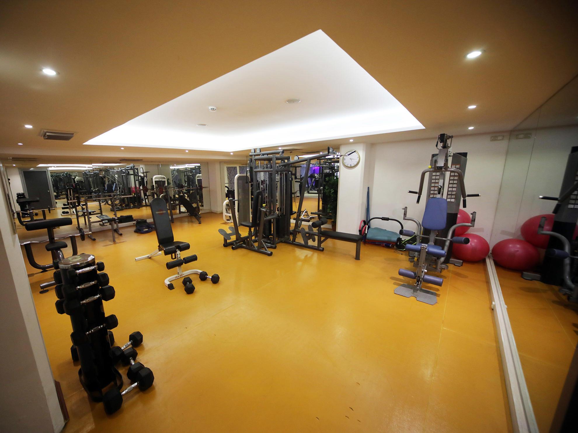 Gym at Bilek Istanbul Hotel