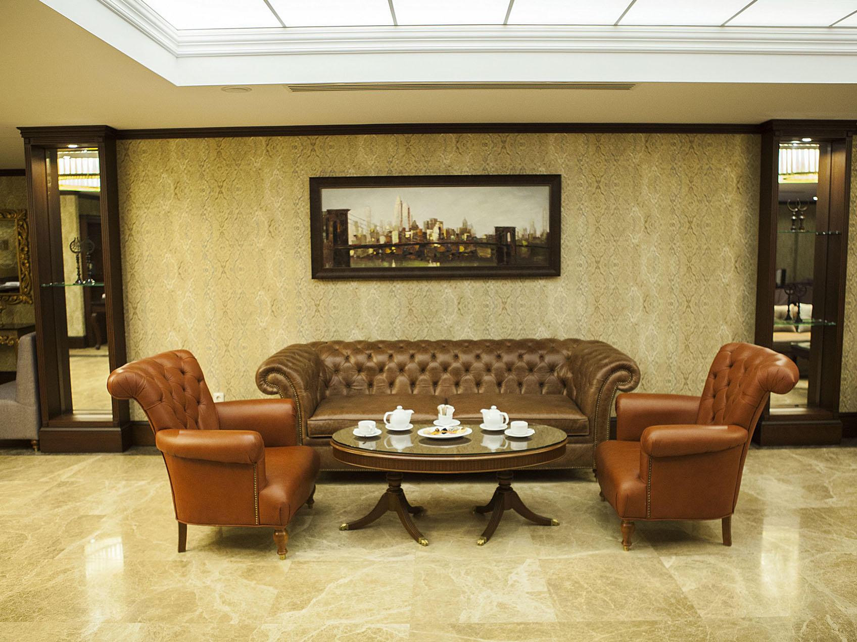 Lobby at Bilek Istanbul Hotel