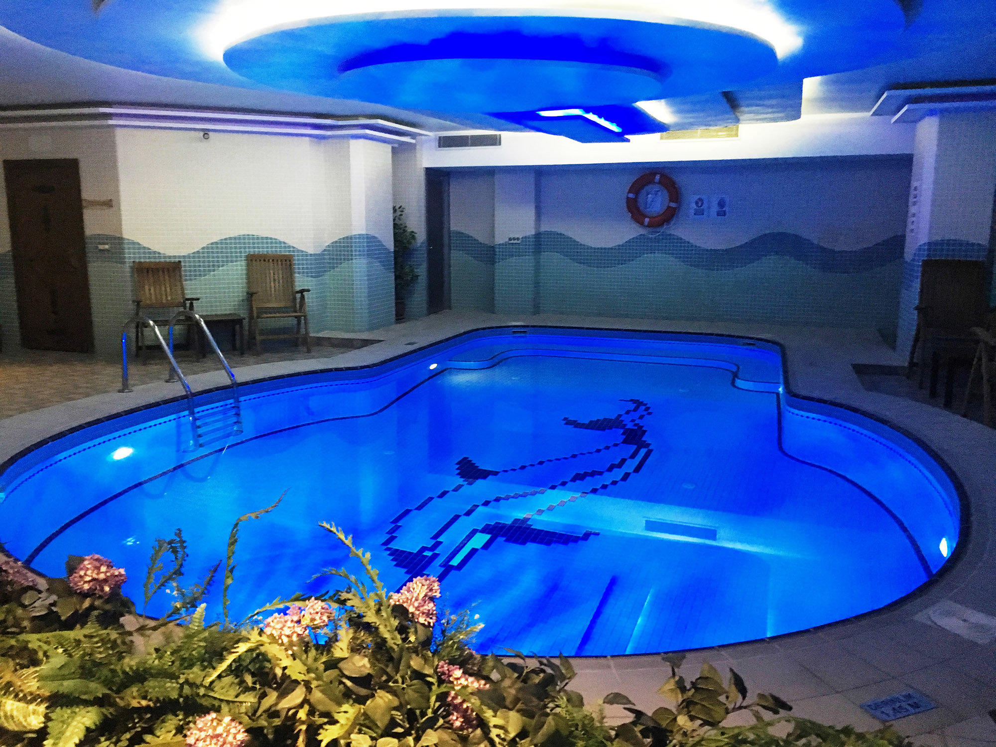 Pool at Bilek Istanbul Hotel