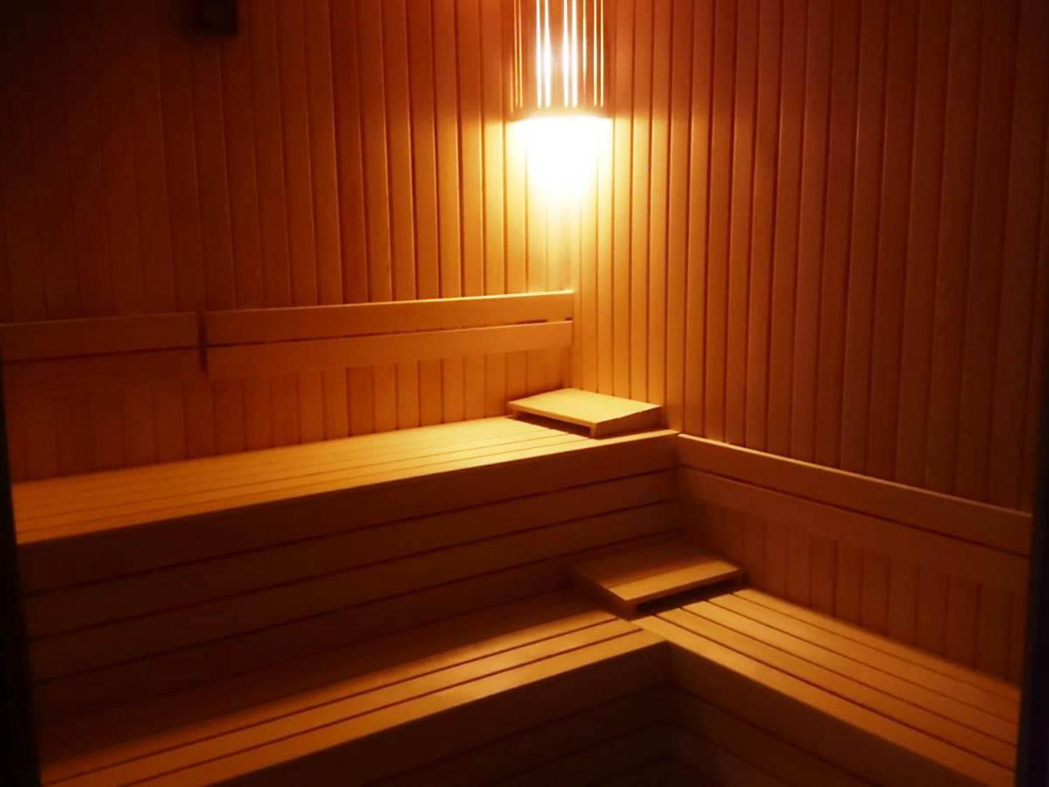 Sauna at Bilek Istanbul Hotel