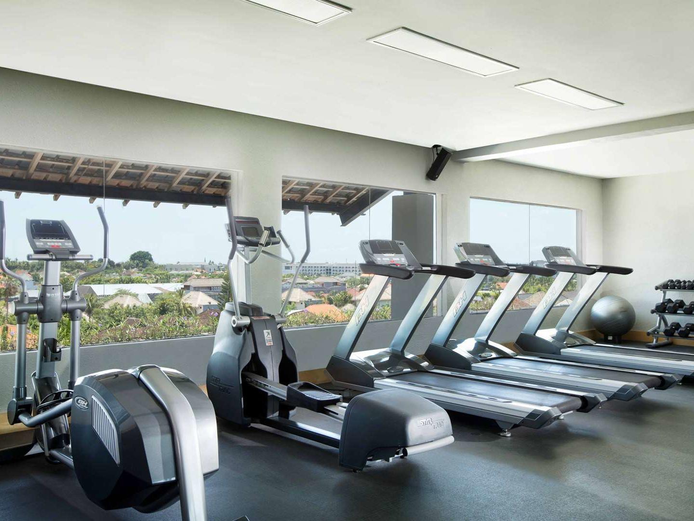 Treadmills of Gym at U Hotels and Resorts
