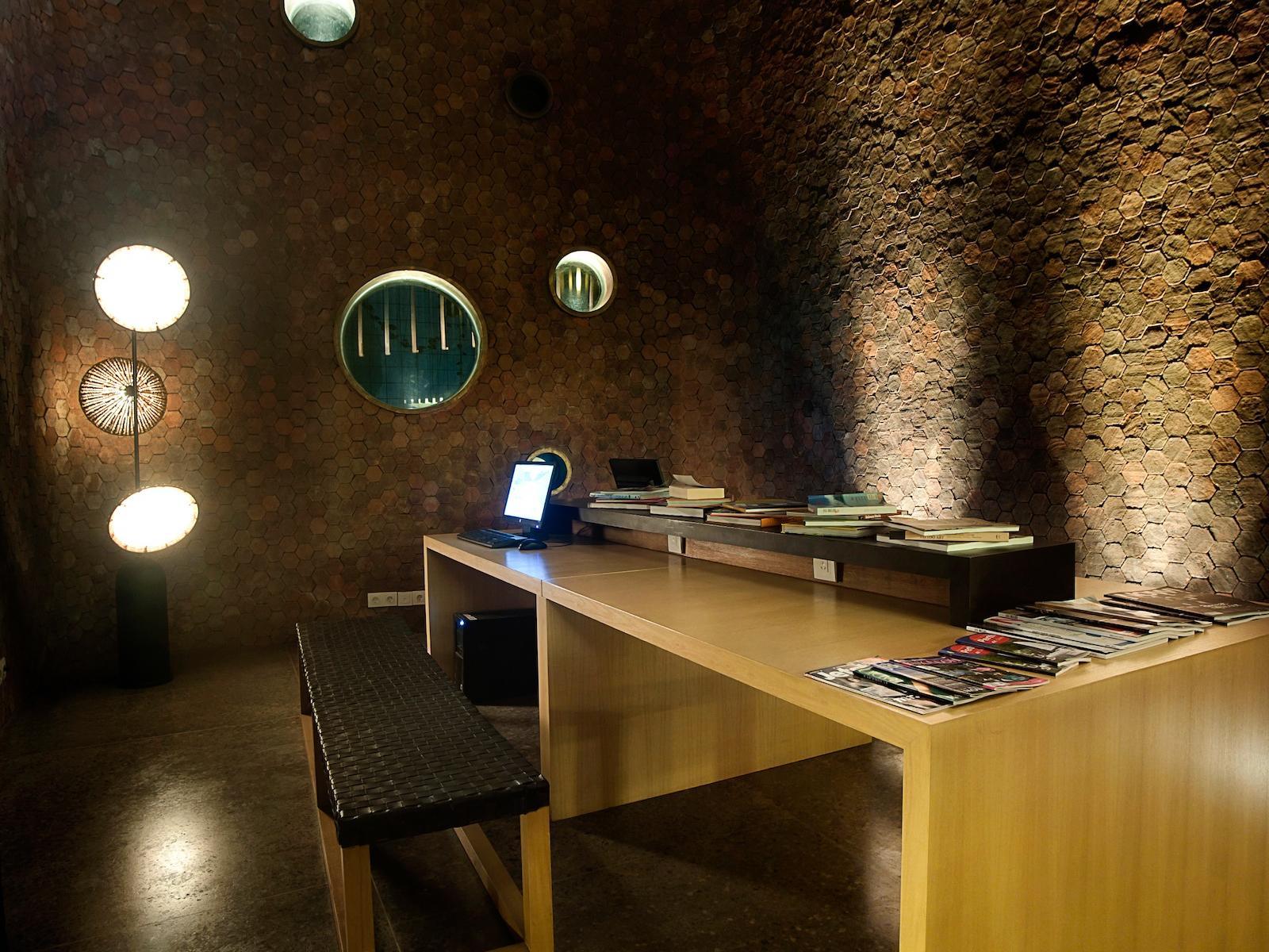 Spacious Library at U Hotels and Resorts