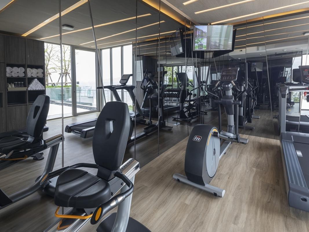 Gym at U Hotels and Resorts