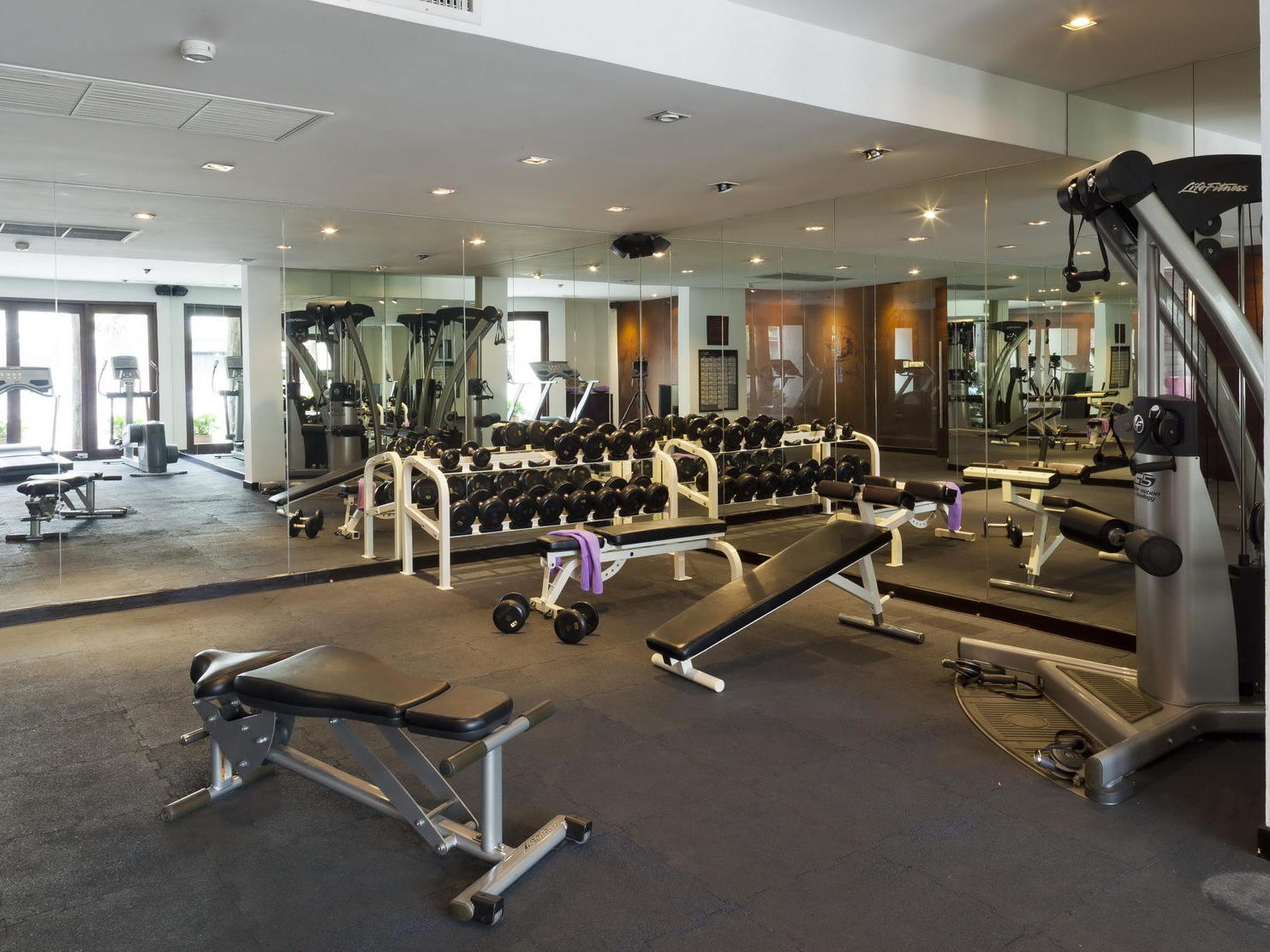 Spacious Gym at U Hotels and Resorts