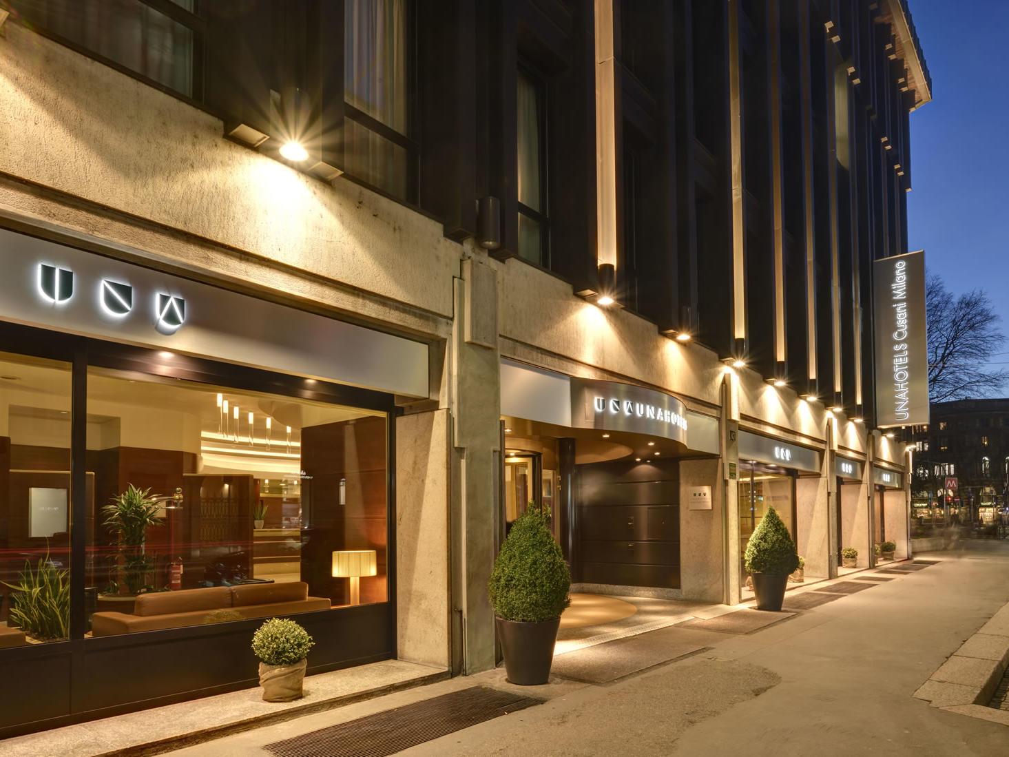 Exterior | UNAHOTELS Cusani Milano
