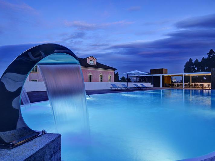 Outdoor Pool at Castello dal Pozzo in Oleggio Castello, Italy
