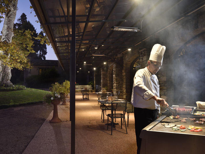 Barbecues at Castello dal Pozzo in Oleggio Castello, Italy