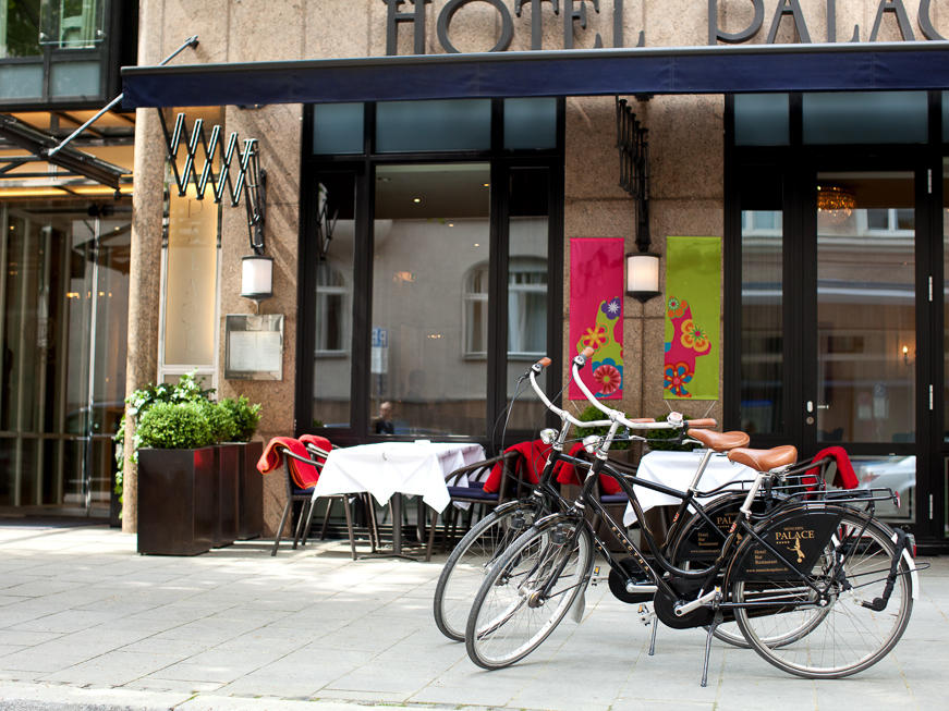 Bike rental at Hotel München Palace