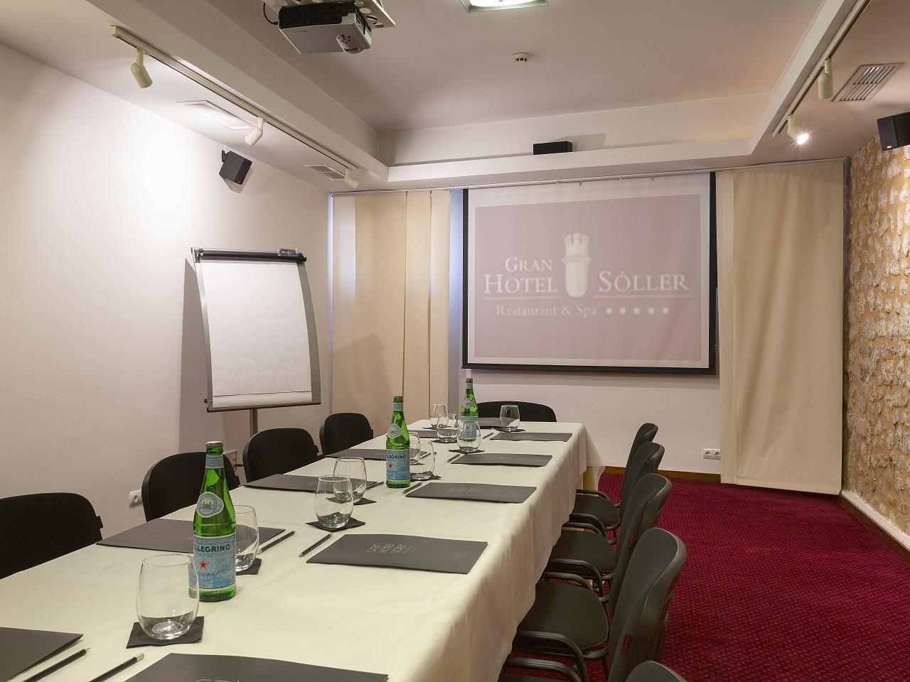 Meeting room at Gran Hotel Sóller in Sóller, Majorca