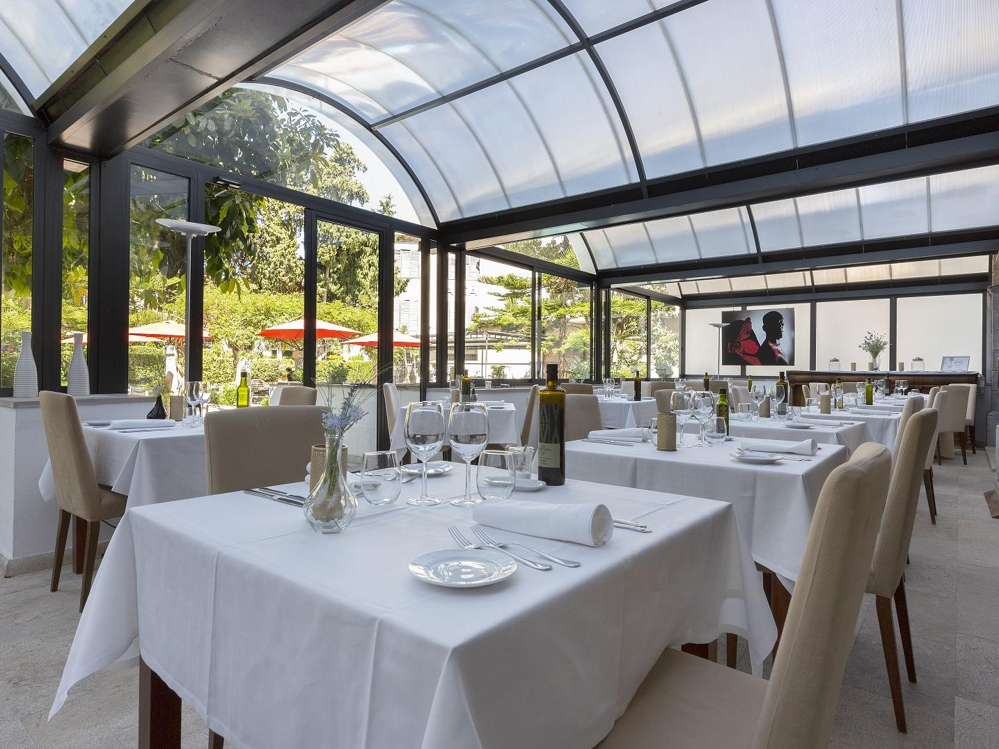 À la carte restaurant at Gran Hotel Sóller in Sóller, Majorca