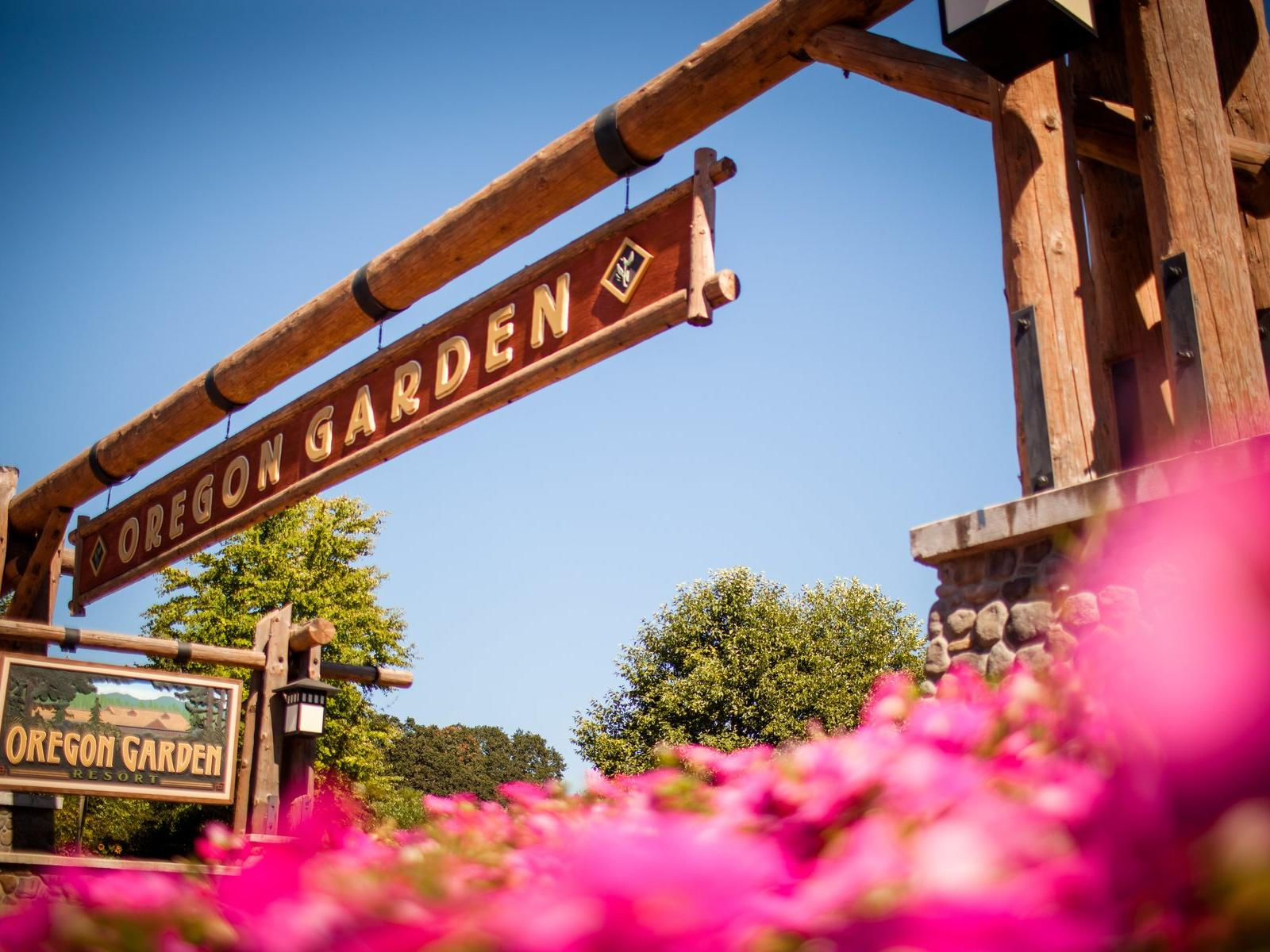 Oregon Gardens Christmas.Oregon Garden Resort Silverton Oregon Resort Hotel