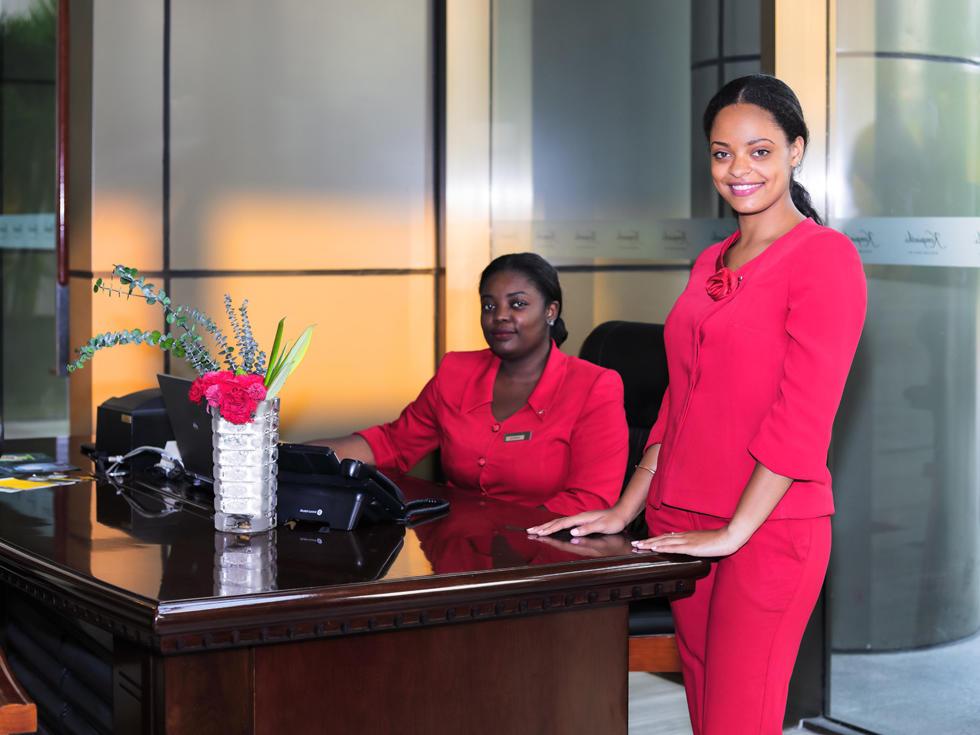 Concierge at Fleuve Congo Hotel Hotel in Kinshasa