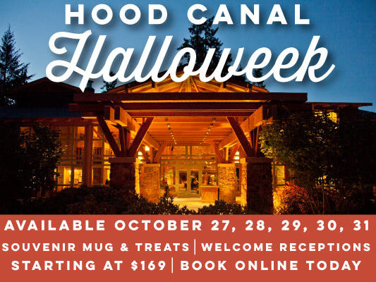 Celebrate Halloween in a relaxed, resort setting with welcome treats, souvenirs and collaborative beverages