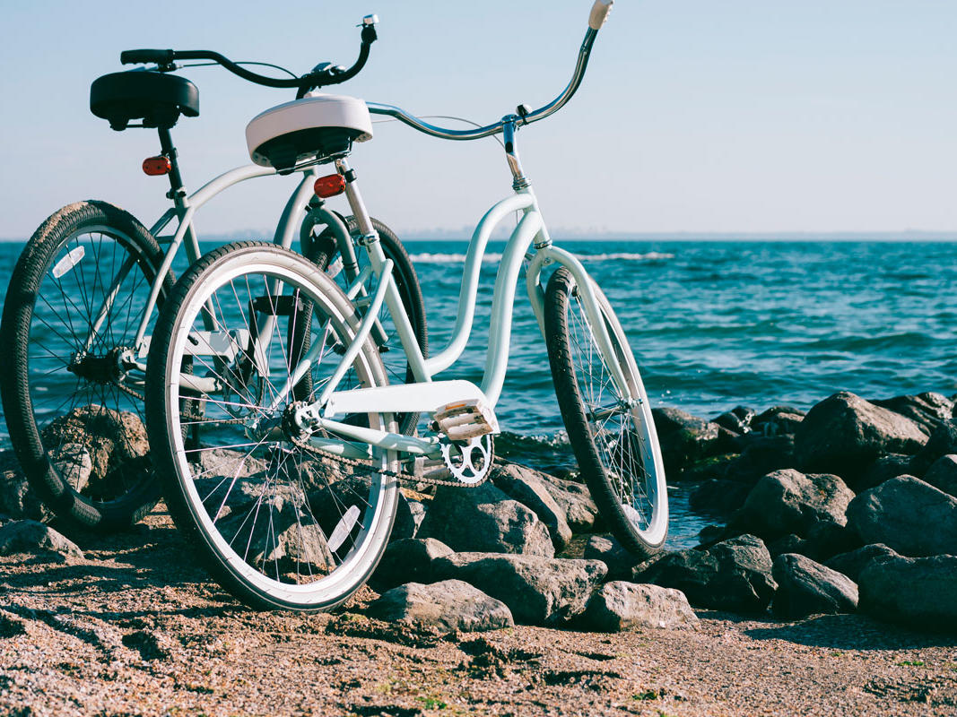 Bike by the Ocean