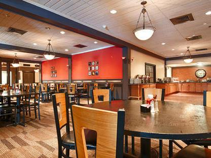 dining tables at restaurant