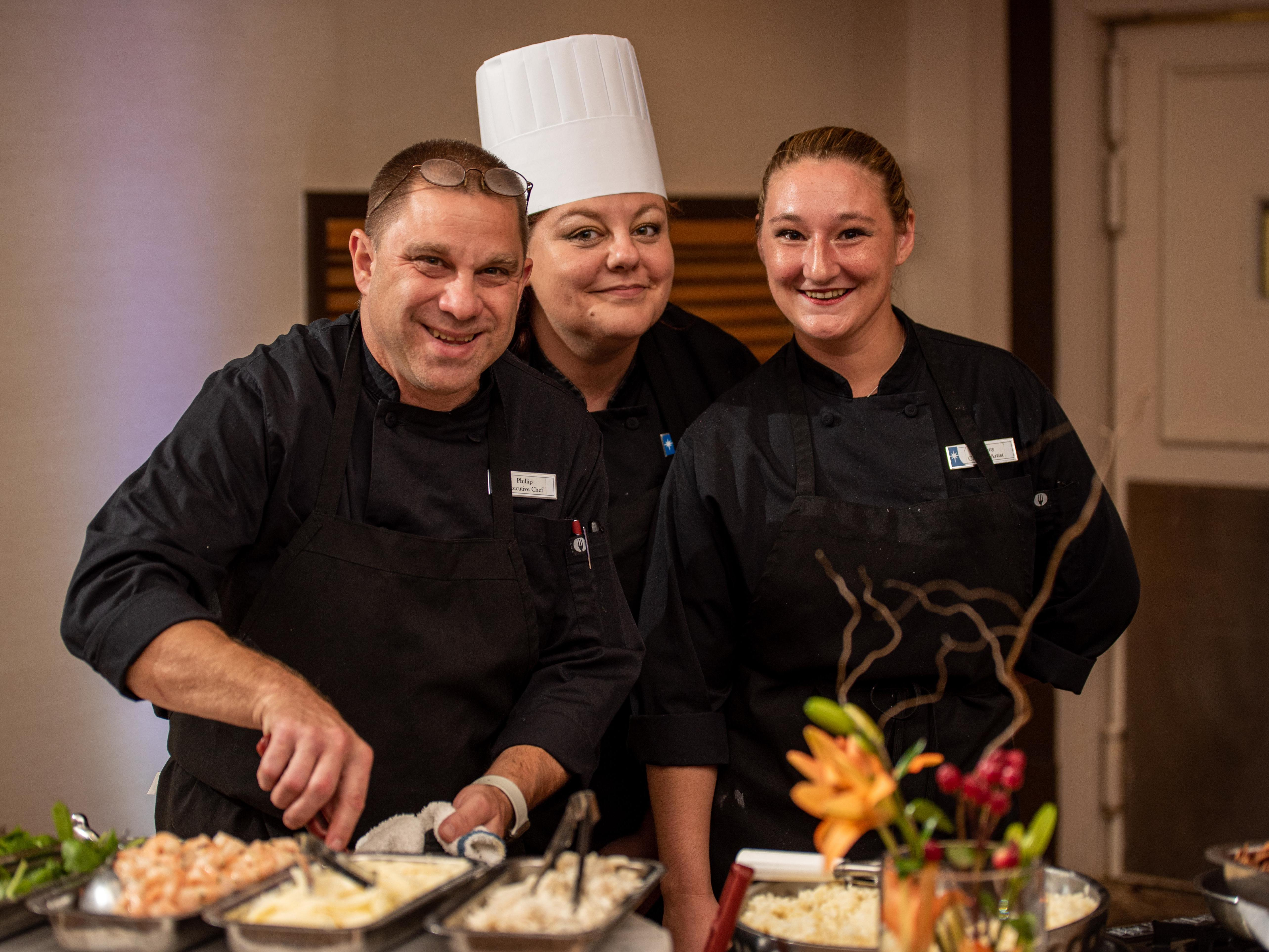 chef and caterers
