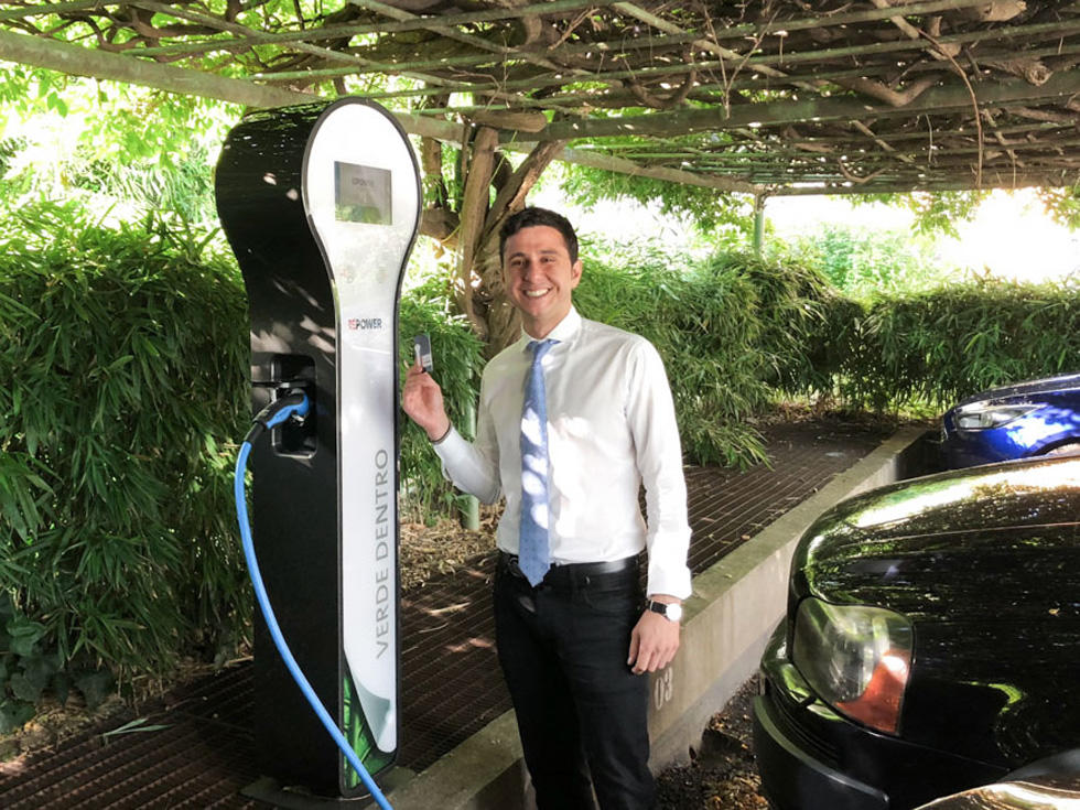 Hotel in Turin | Charging station electric cars