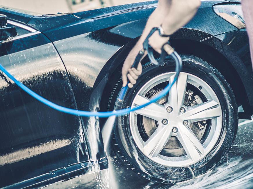 Car Washing Facitity in Club Mykonos