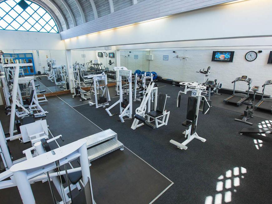 Gym in Club Mykonos