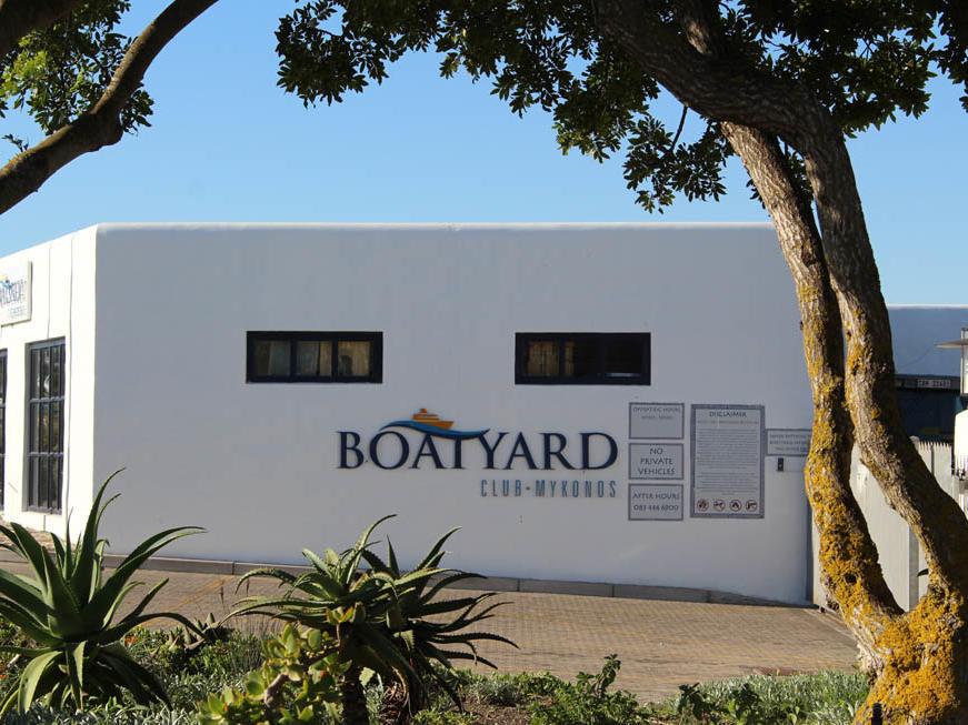 Boatyard in Club Mykonos