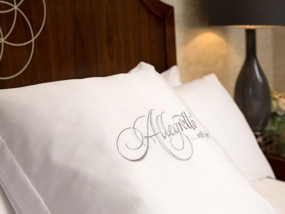 Pillow with Allegretto Logo