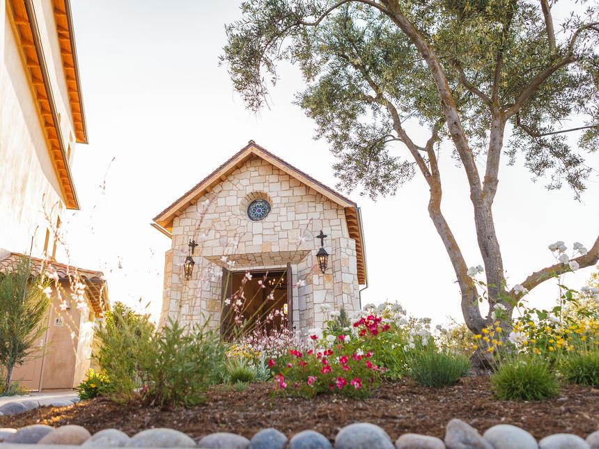 Wedding chapel at Allegretto Vineyard Resort