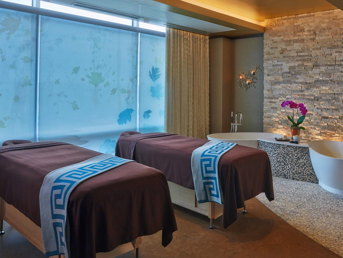 Massage tables and bath tubs