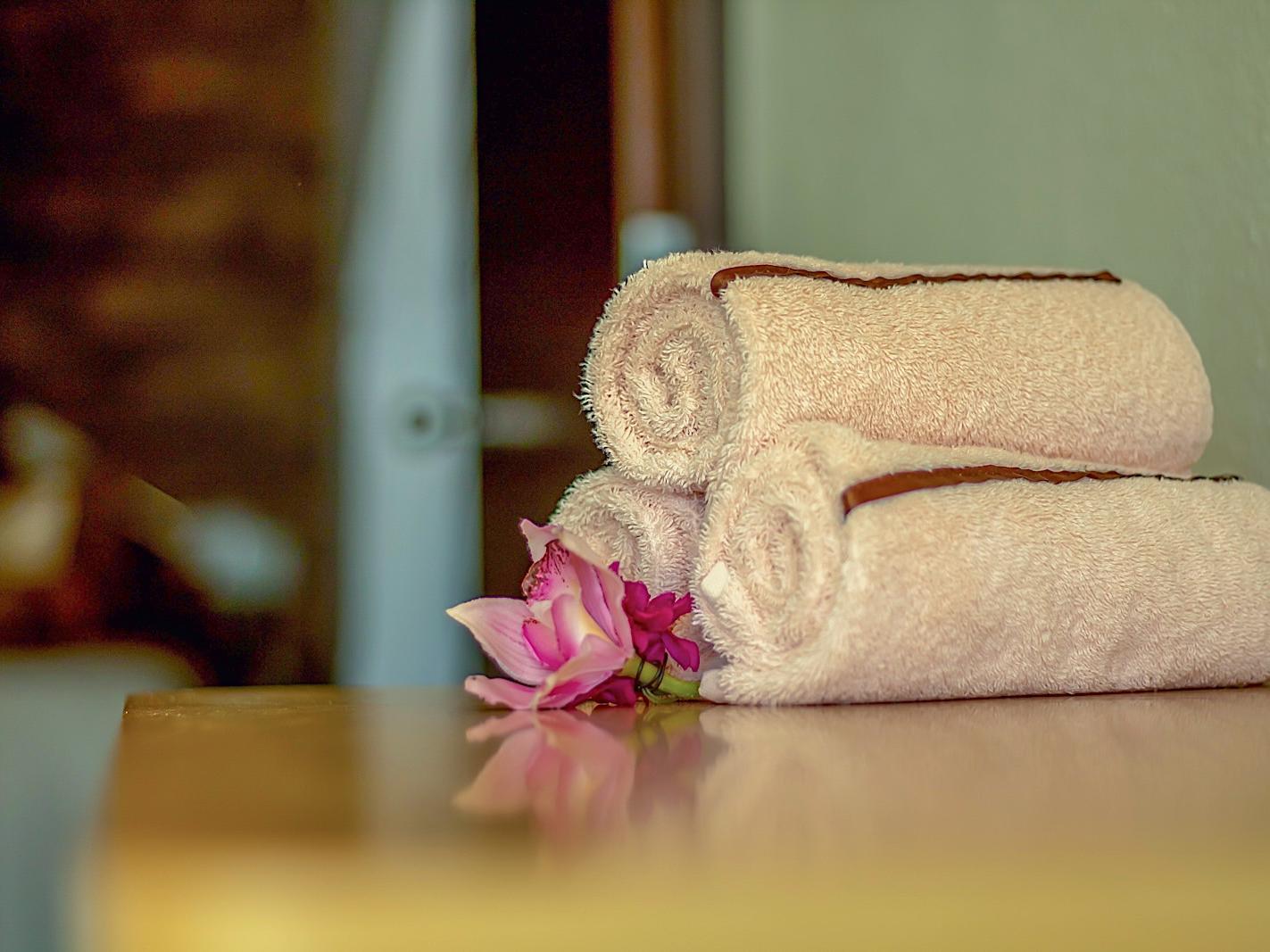 Configuración de toallas