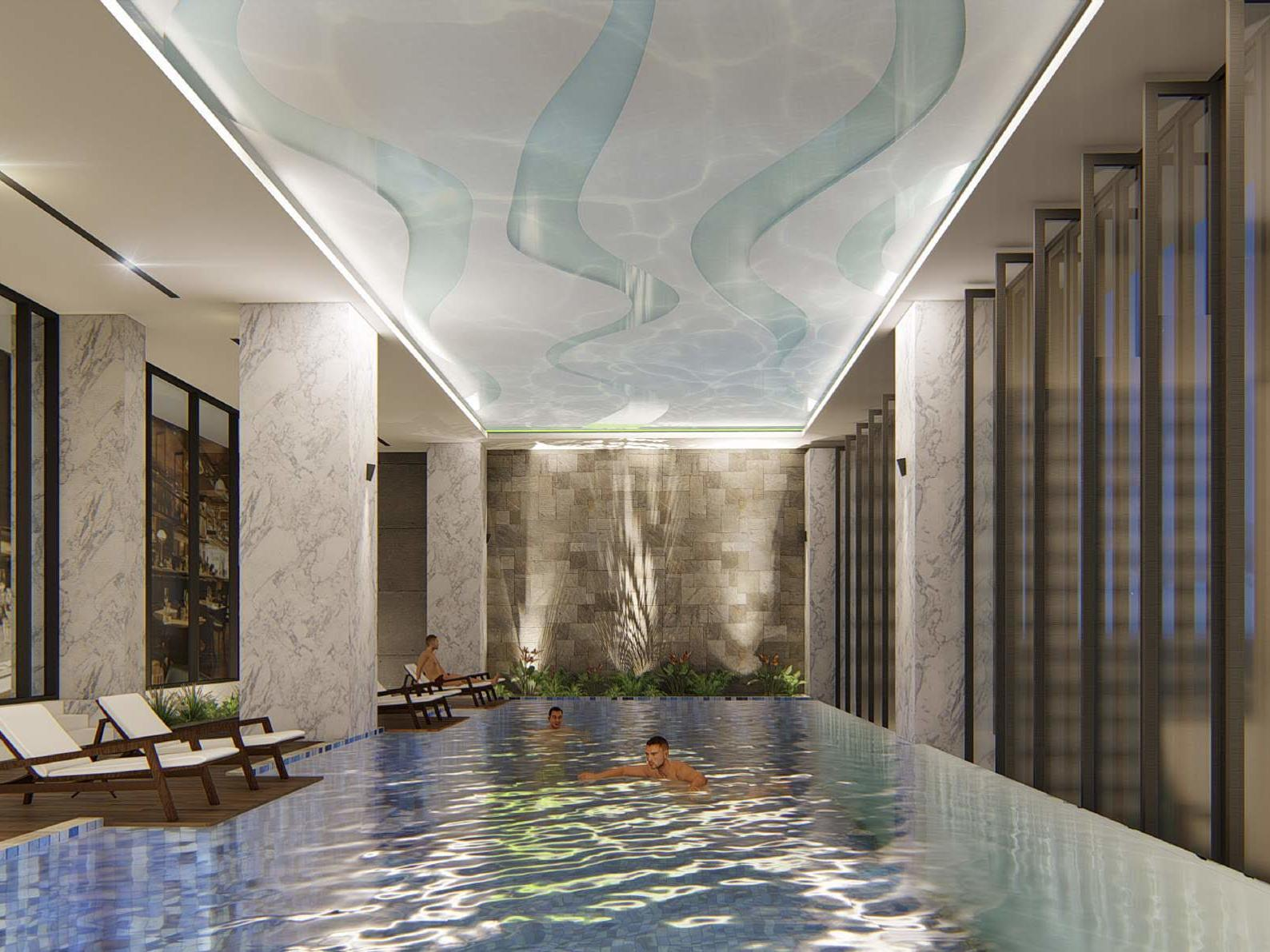Interior pool - Eastin Hotel