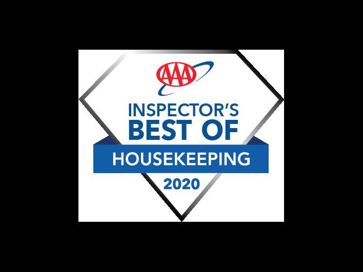 inspectors best of housekeeping 2020 logo