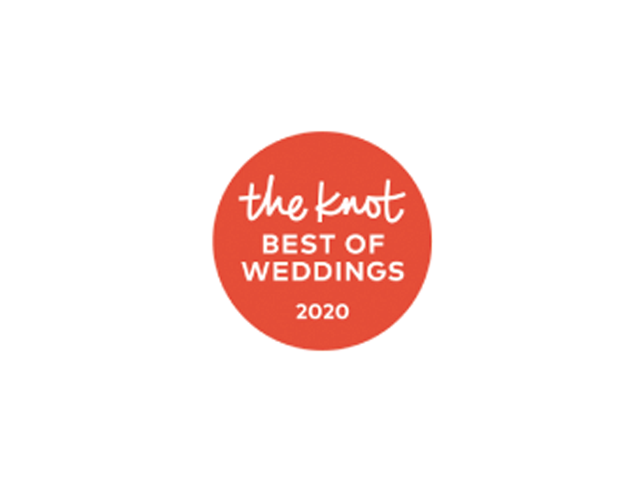 logo of the knot best of weddings 2020