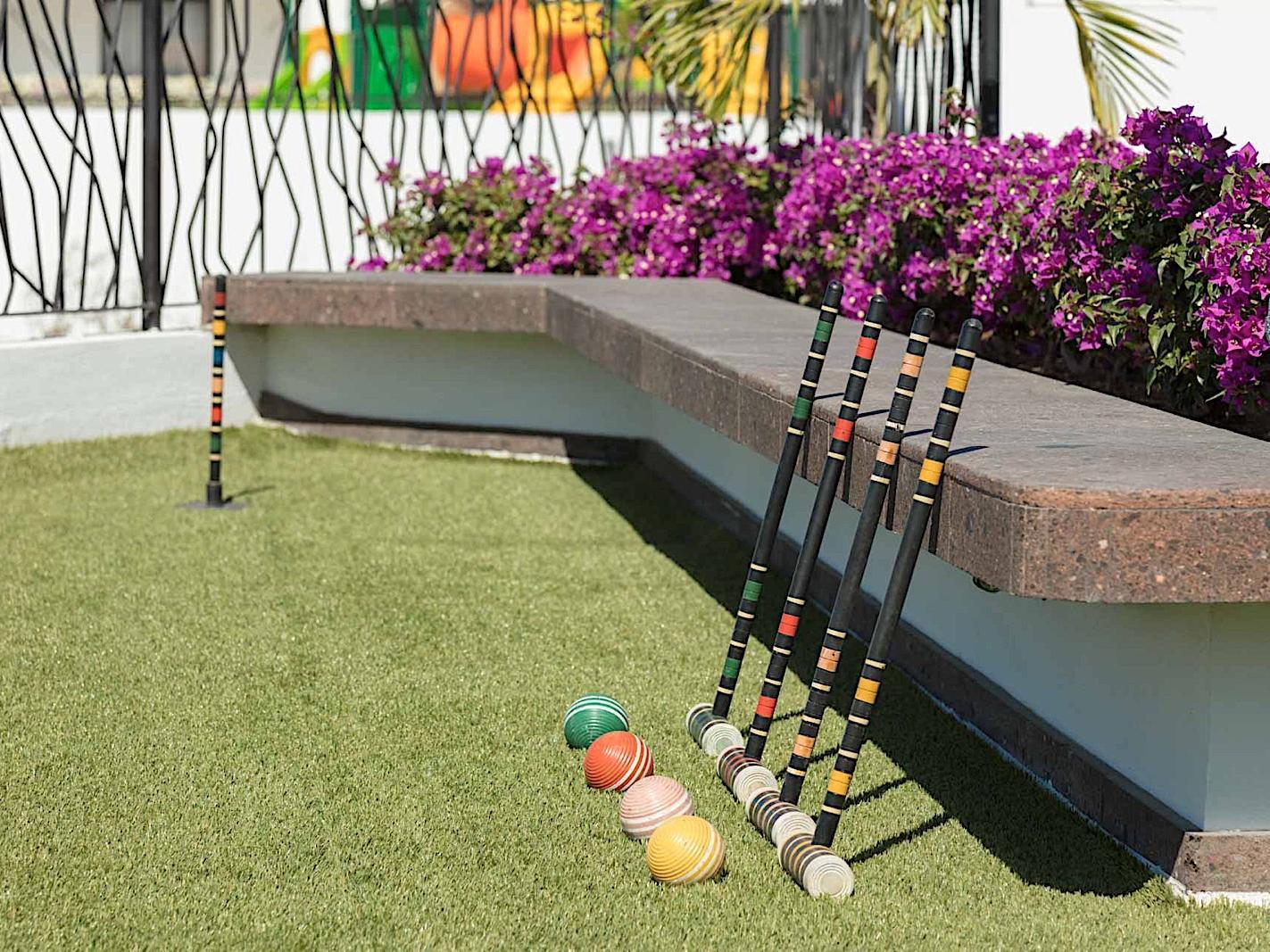 Juego de croquet