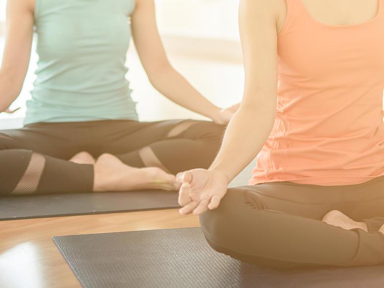 Yoga im Traumhotel ...liebes Rot-Flüh