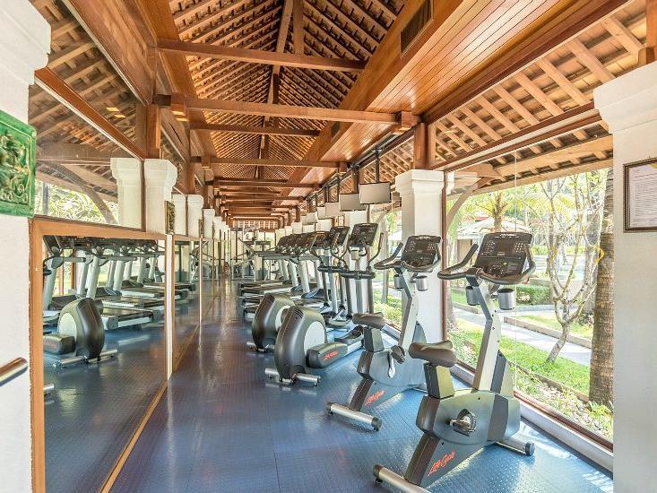View of a Fitness center at Chatrium Hotel Royal Lake Yangon