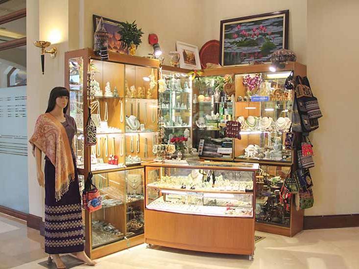 View of a Hotel Kiosk at Chatrium Hotel Royal Lake Yangon